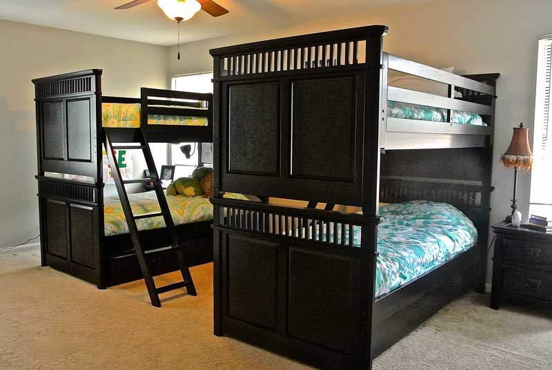 Windhaven House bunk beds - drug and alcohol addiction recovery program - best sober living in Dallas for women