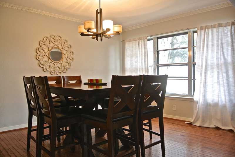 Windhaven House dining room - Addiction recovery programs for women - sober living for women in Dallas