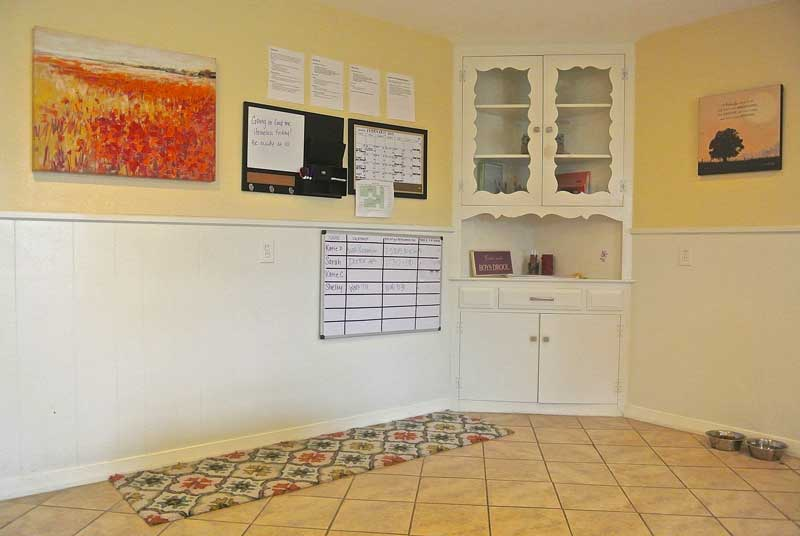 Windhaven House Laundry Room - dallas recovery program - sober living dallas
