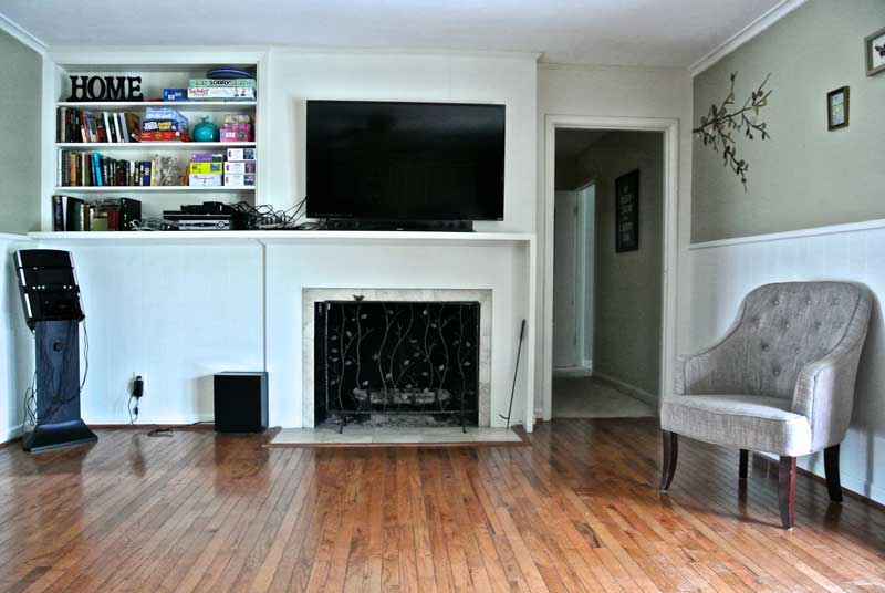 Windhaven House - fireplace - dallas recovery program - women's sober living in Dallas area