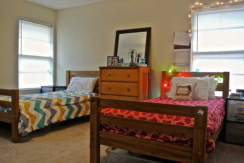 Windhaven House - bedroom - extended care services for women - dallas sober living